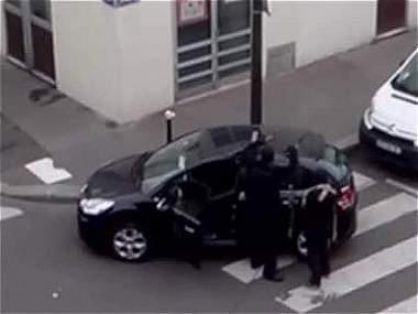 Nuevo video revela fuga de atacantes a 'Charlie Hebdo'