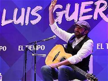 Se inició el Hay Festival 'al son' de Juan Luis Guerra