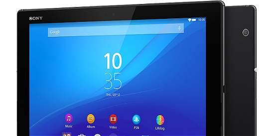 Sony presenta la Xperia Z4 Tablet y quiere competir con el iPad