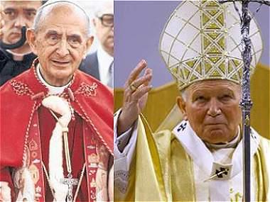 Los otros papas que han visitado Colombia
