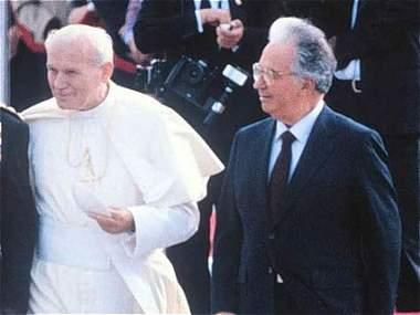 En fotos, la visita de Juan Pablo II a Colombia