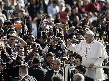 El papa Francisco en Colombia