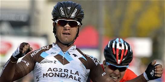 A Betancur le tocó asumir la responsabilidad del AG2R en el Giro