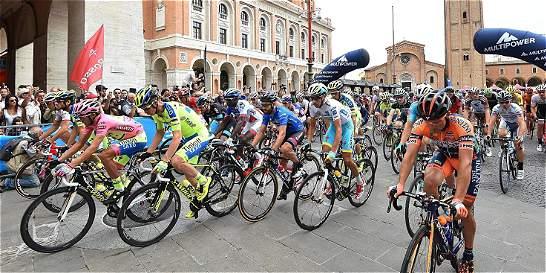 Carlos Betancur, segundo en la undécima etapa del Giro de Italia