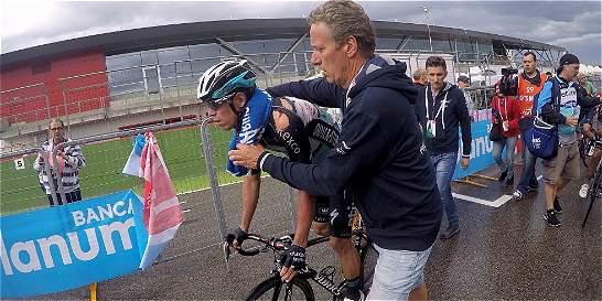 La salud, el enemigo de Rigoberto Urán en el Giro de Italia