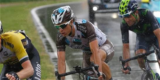 Carlos Betancur volvió a coger la rueda