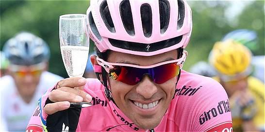 Contador conquistó su segundo Giro y ya piensa en el Tour de Francia
