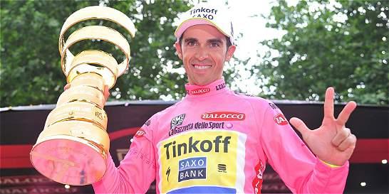 Italia elogió a Contador, ganador del Giro de Italia
