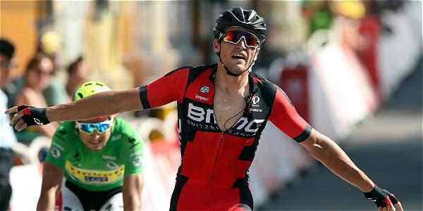 Greg van Avermaet , ganador de la etapa 13.
