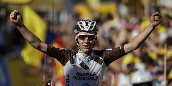 Romain Bardet, ciclista francés.
