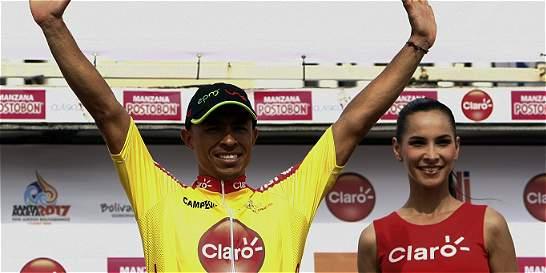 Jaime Castañeda es nuevo líder de la Vuelta a Colombia