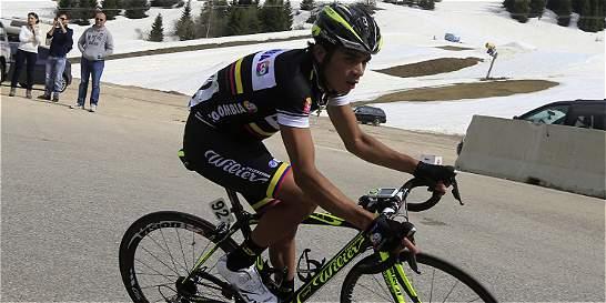 Fabio Duarte llega a la Vuelta con buenas sensaciones