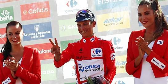 Resumen y clasificaciones de la segunda etapa de la Vuelta a España