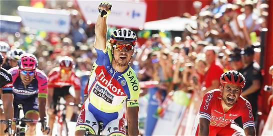 'He metido la pata, pero además no tuve piernas': Sagan