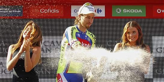 'Siempre lo intento y algún día tenía que salir bien': Sagan