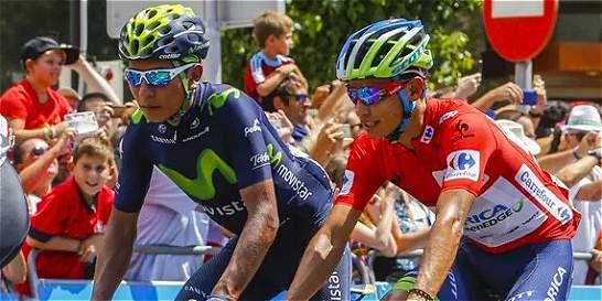 Valverde ganó, Chaves sigue de líder y Nairo fue noveno en la etapa