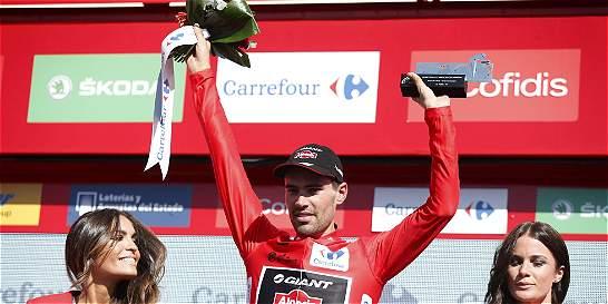 Dumoulin no sabía que era el nuevo líder de la Vuelta a España