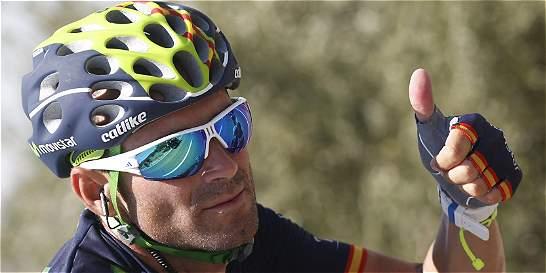 'No sé si Froome está bien o mal porque no lo vi': Valverde