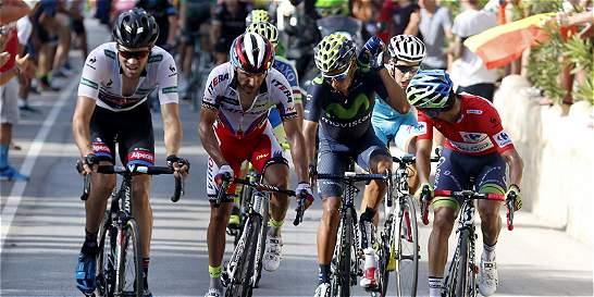 Chaves ya no es líder, Quintana se mantuvo y Froome recortó tiempo