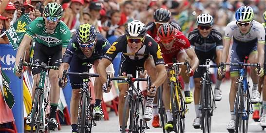 Sbaragli ganó la décima etapa y Dumoulinn sigue de líder de la Vuelta