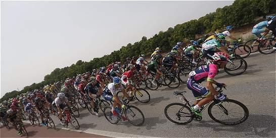 El pelotón de la Vuelta descansa, a la espera de la etapa reina