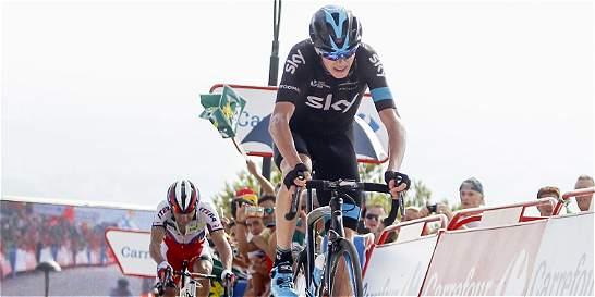 'La Vuelta empieza de verdad este miércoles': Chris Froome