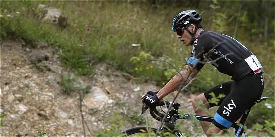 'Me vacié para llegar hasta el final de la etapa': Froome