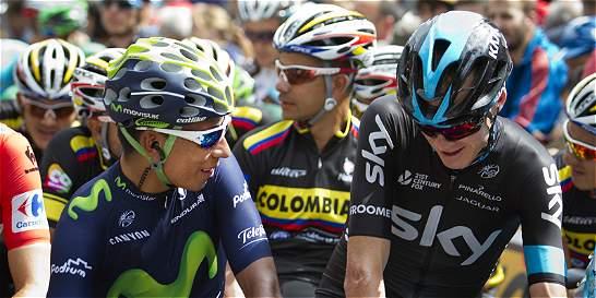 Fue todo para Quintana y Chris Froome en la Vuelta a España