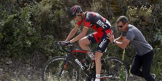 Samuel Sánchez se retiró de la Vuelta a España
