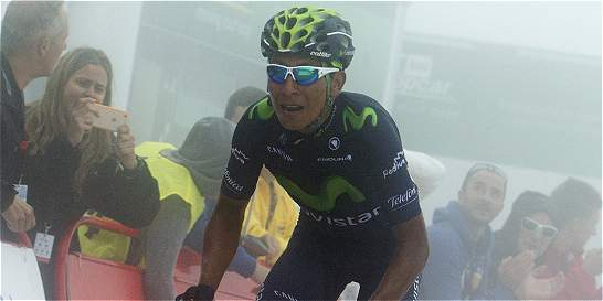 'Espero poder luchar al menos por el podio': Nairo Quintana