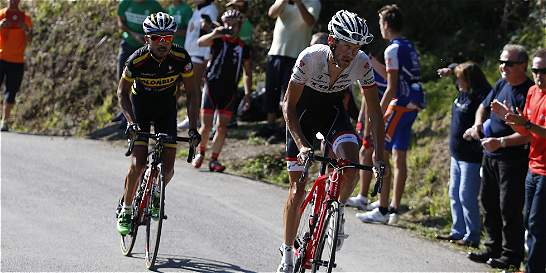 Sabor agridulce del Team Colombia en la Vuelta