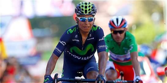 Último intento de Nairo por el podio de la Vuelta España