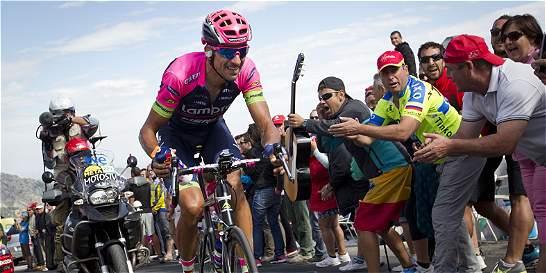 'En esto del ciclismo hay que disfrutar del momento': Rubén Plaza