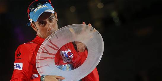 En el paseo a la Castellana Aru se coronó campeón de La Vuelta