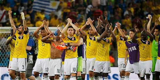 Colombia ganó cuando Luis Suárez no jugó