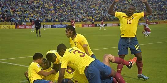 Bolaños y Caicedo le dieron el triunfo a Ecuador contra Bolivia