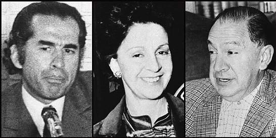 En imágenes: los magistrados asesinados