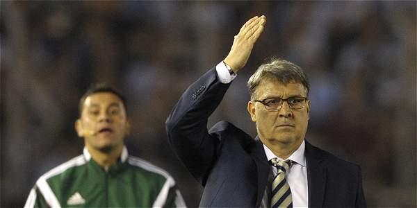 Gerardo Martino, entrenador de Argentina.