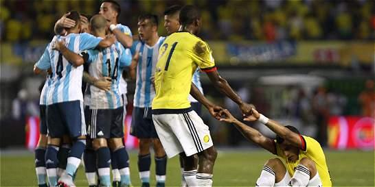 Una rajada general en la Colombia que enfrentó a Argentina
