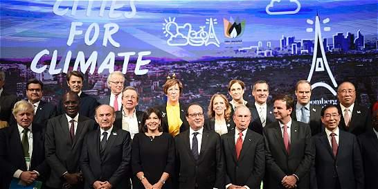 Alcaldes, actores, ONU y ONG presionan por un acuerdo sobre el clima