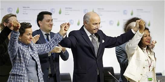 Acuerdo histórico en París para luchar contra el cambio climático