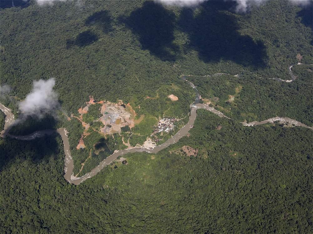 El Ministerio de Medio Ambiente calculaba, para el 2013, al menos 67.000 hectáreas de selva húmeda