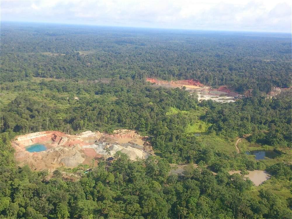 Barbacoas (Nariño) se suma al panorama desolador que deja la minería. Aunque la reparación del daño ambiental no está del todo cuantificado, su cifra se contaría en billones de pesos.