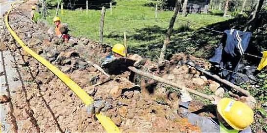 El gas llegará por tubos a las casas en Putumayo