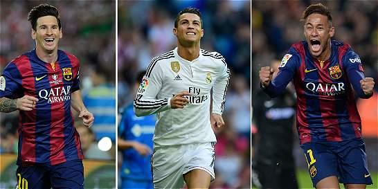 Tres estrellas en la disputa por el Balón de Oro