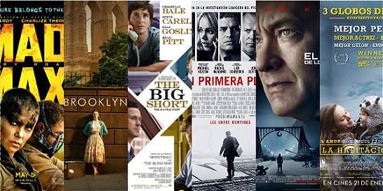 En video: las cintas nominadas a mejor película en los Óscar 2016