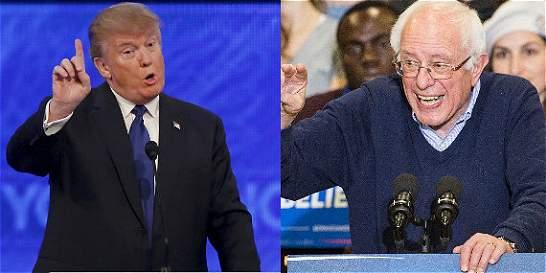 Trump y Sanders quieren golpear en las primarias de Nuevo Hampshire