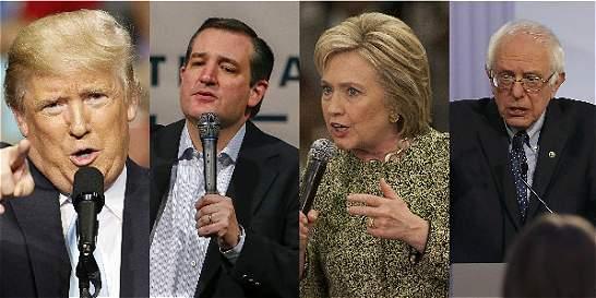 Trump y Clinton avanzan en primarias de EE.UU. tras ganar en Arizona