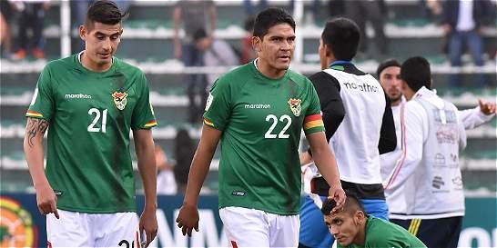 Bolivia perdió a cinco jugadores para el partido contra Argentina