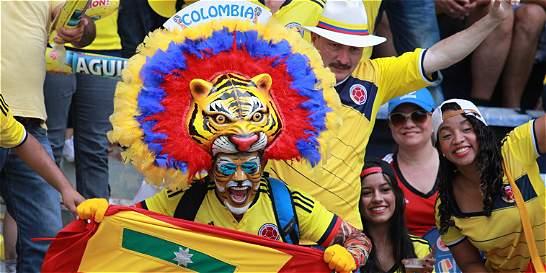 Un ambiente amarillo se apoderó de Barranquilla con la Selección